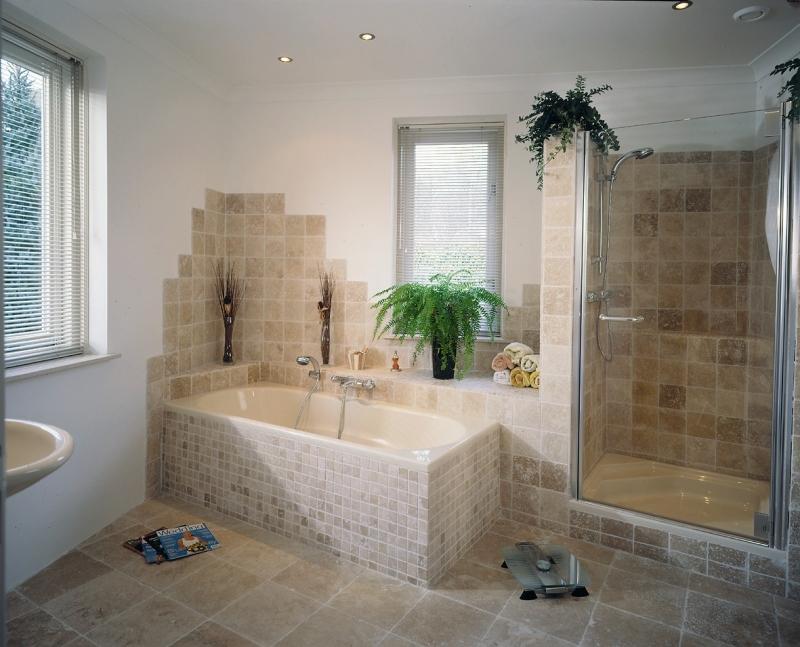 Badkamertegels ross tegels - Muur tegel installatie ...