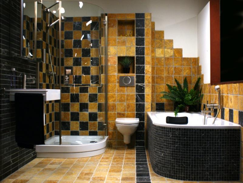 Badkamer Met Natuursteen : Natuursteen badkamer ross tegels
